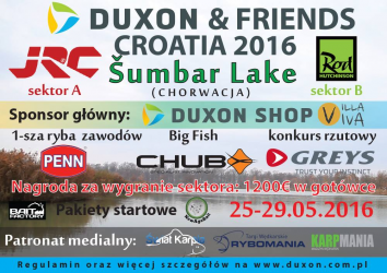DUXON & FRIENDS Croatia 2016 - Sumbar Lake