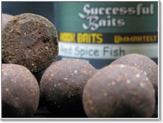 Hookbaits Red Spice Fish - od Successful Baits